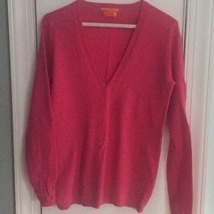 Joe Fresh 100% Cashmere Sweater Fuchsia